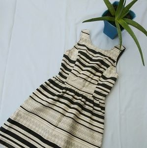 Kensie Size XS Striped Mini Dress (A15)